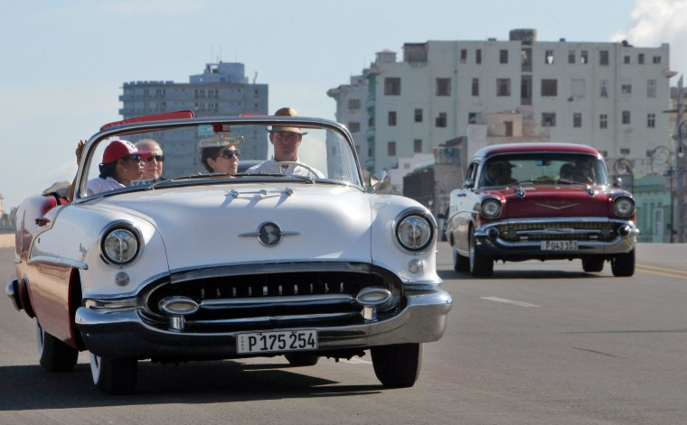 Image: Vintage cars in the daily life in Havana