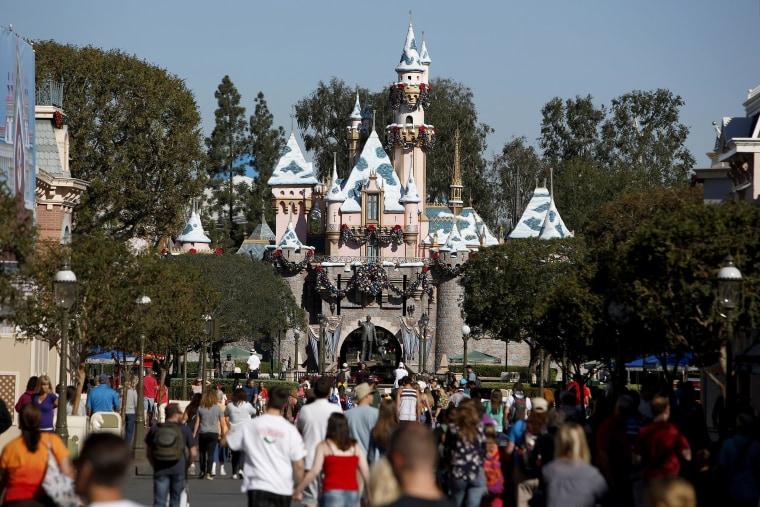 Inside Walt Disney Co.'s Disneyland Park Ahead Of Earnings Figures