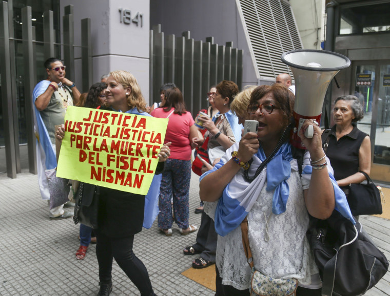 Image: ARGENTINA-ISRAEL-IRAN-AMIA-ATTACK-JEWS-PROSECUTOR-NISMAN-DEMO