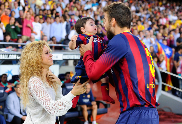 Image: Shakira And Gerard Pique Expecting Second Child