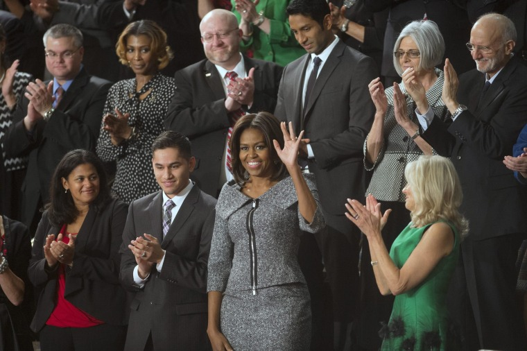 Image: Michelle Obama on Tuesday