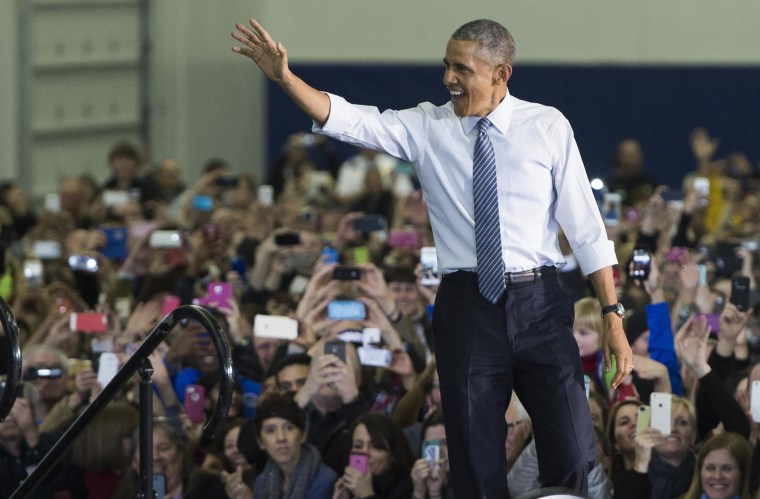 Image: US-POLITICS-OBAMA-ECONOMY