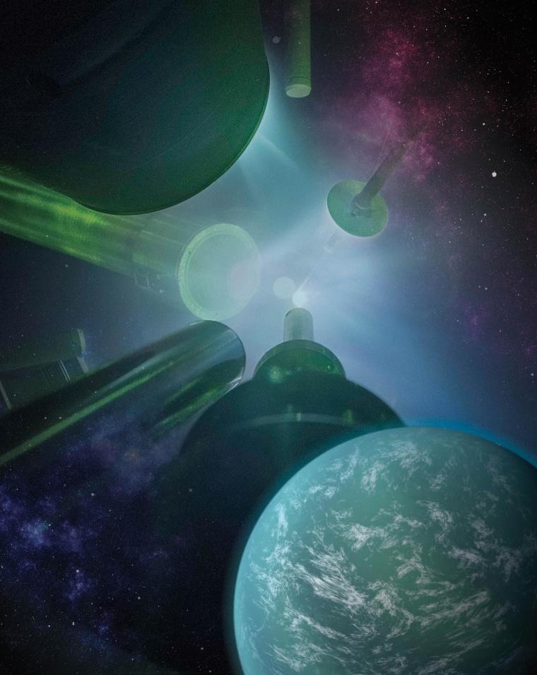 Laser-Blasting Researchers Simulate Super-Earths