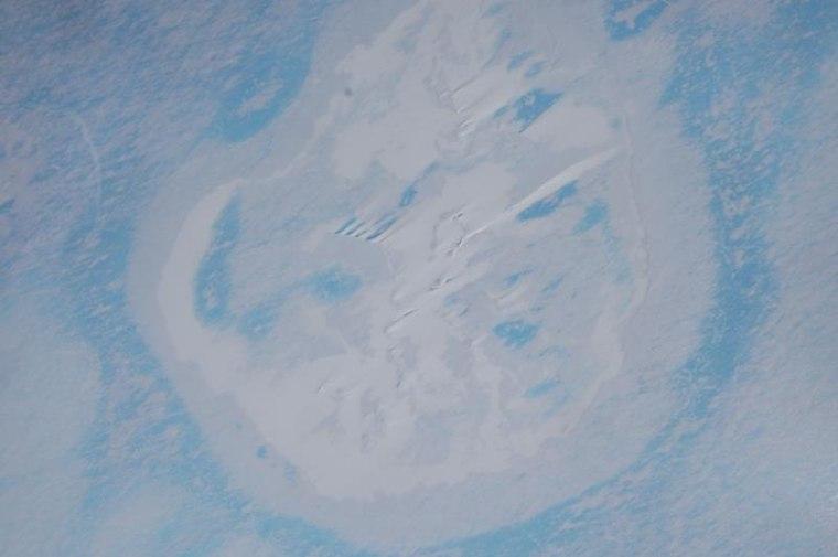 Image: East Antarctica crater