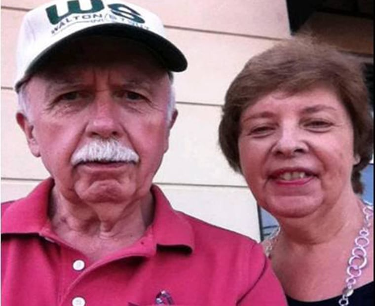 """Image:  Elrey """"Bud"""" Runion and his wife 66 year old June Runion were last was heard from on Thursday January 22, 2015."""