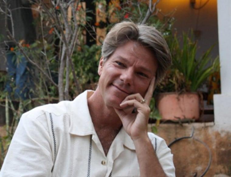 Author John Vaillant in Oaxaca , Mexico, 2010.