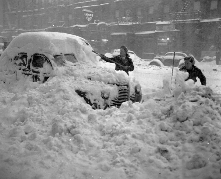 Image: New York on Dec. 26, 1947