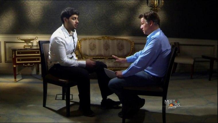 Ahmad Rashidi and Richard Engel Interview