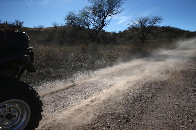 Image: Border Patrol Agents Monitor U.S. Mexico Border