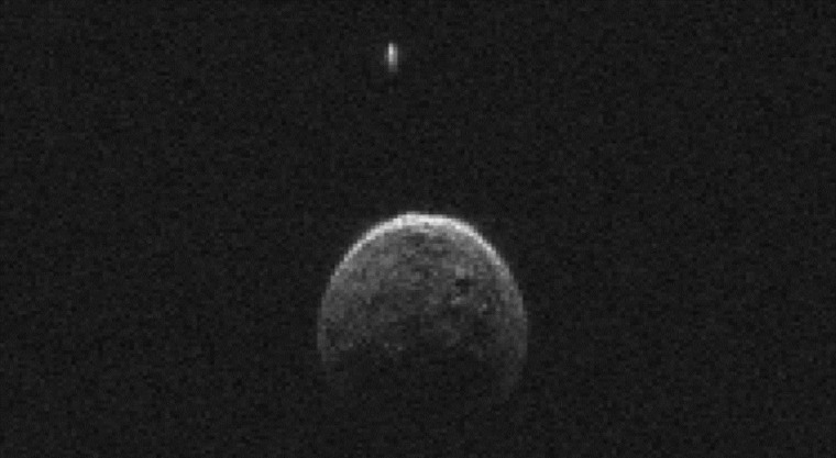 Asteroid That Hurtled Past Earth Has a Miniature Moon