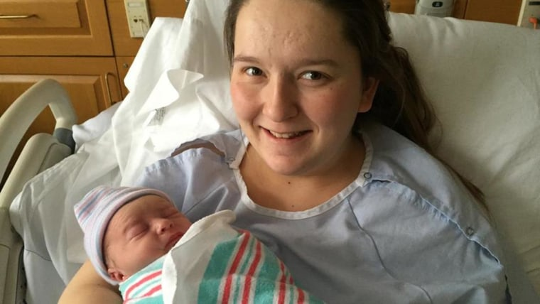 Danielle Smith of Nantucket gave birth to Cayden Keith Moore at 3:53 a.m. on Jan. 27, weighing 6 pounds, 4.8 ounces and measuring 17 and three-quarter inches.