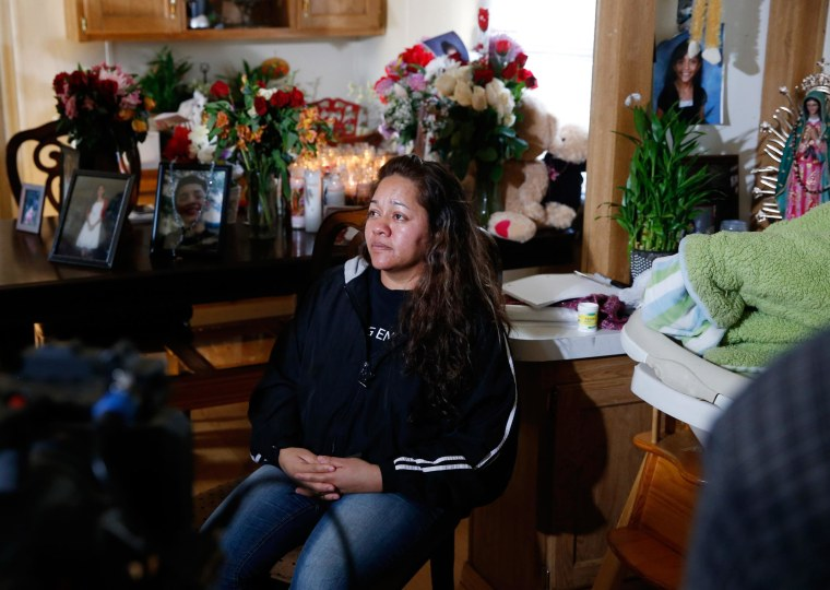Image: Laura Hernandez 17-year-old daughter Jessica was killed after she allegedly hit and injured a Denver Police Department officer