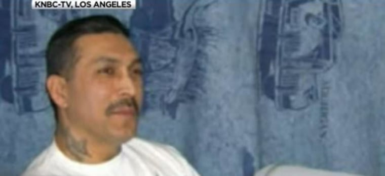 "Imprisoned ex-Mexican Mafia hit man Rene Enriquez, who is known as ""Boxer"""