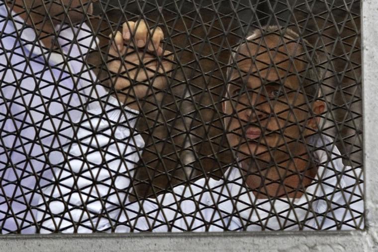 Image: EGYPT-TRIAL-MEDIA-POLITICS-JAZEERA-AUSTRALIA-FILES