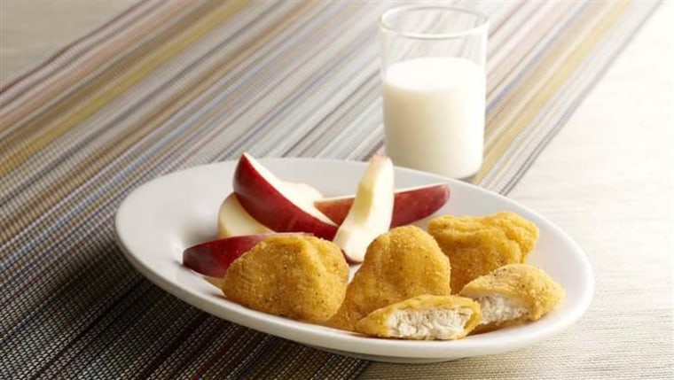 Jason's Deli's J.D. Nuggetz are antibiotic-free and cornmeal-coated.