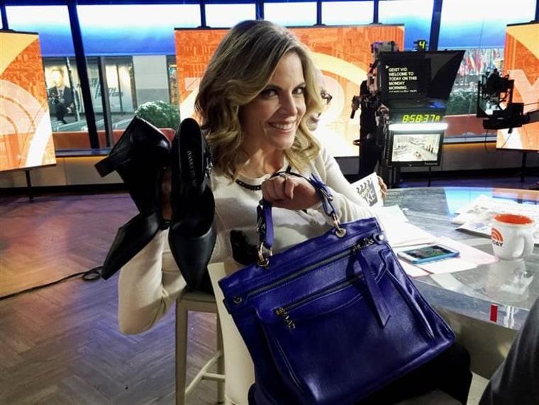 Image: Natalie bag, shoes