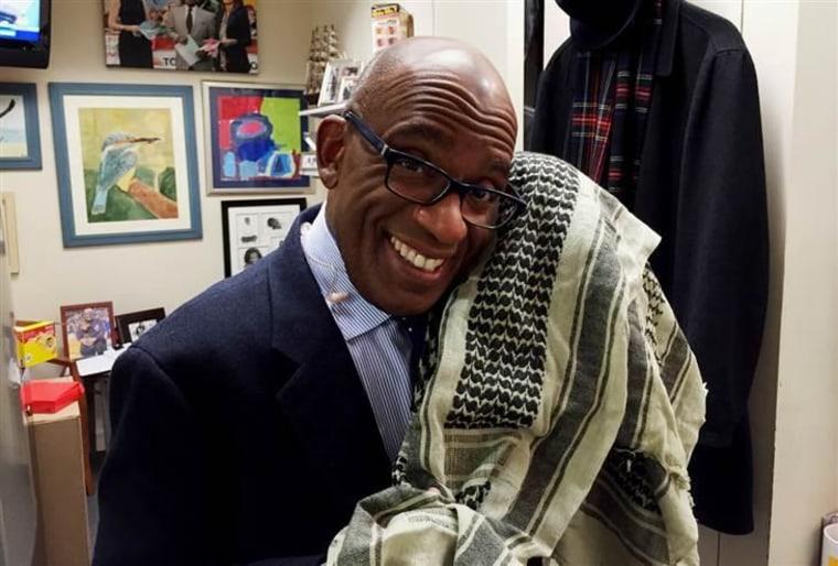 Image: Al Roker scarf