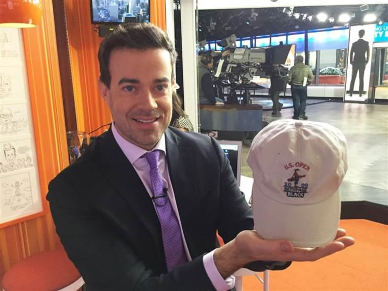Love hats? Here's your chance to grab Carson Daly's.