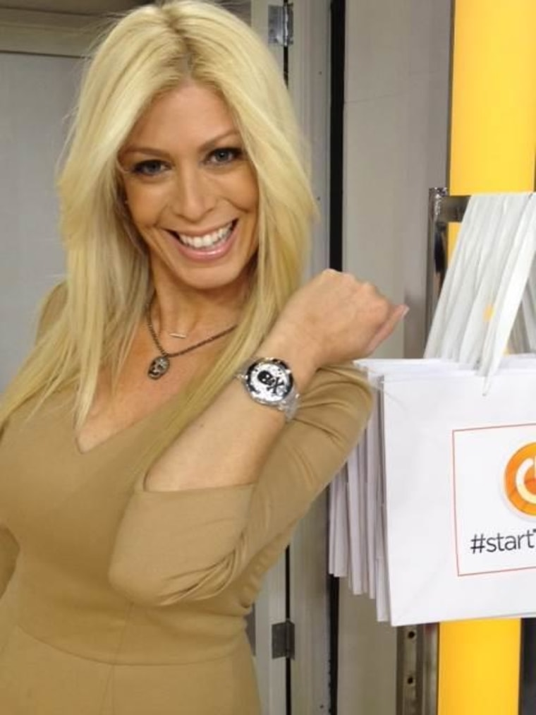 Got the time? You will after you swap for Jill's watch.