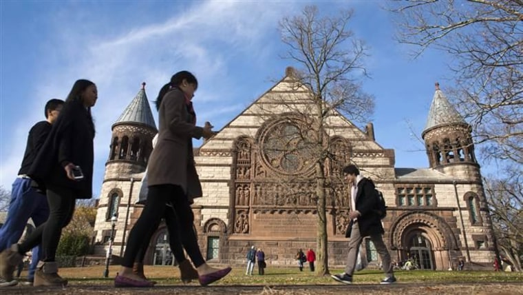 """Princeton University is high on Princeton Review's """"Colleges That Pay You Back"""" list."""