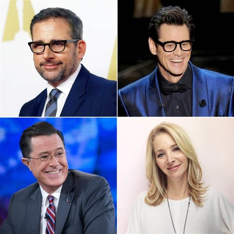 """Clearly, Steve Carell, Jim Carrey, Lisa Kudrow and Stephen Colbert were not shy of talent, even if they didn't make it on to """"Saturday Night Live."""""""