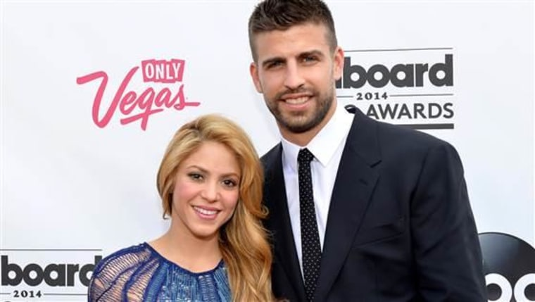 FILE - August 28, 2014: Shakira and Gerard Pique have announced that they are expecting their second child LAS VEGAS, NV - MAY 18:  Singer-songwriter ...