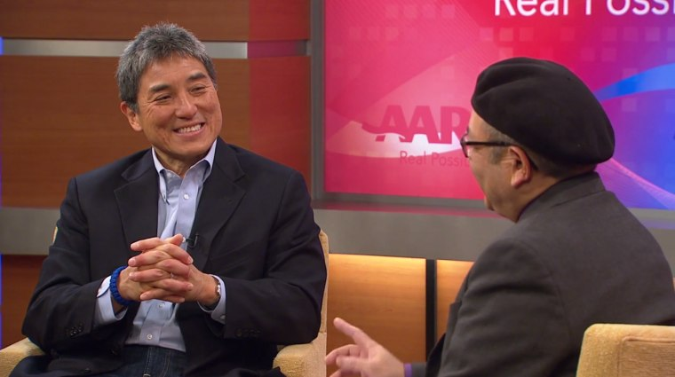 Technology entrepreneur Guy Kawasaki is working with the nonprofit AARP to create a new web series to digitally empower the over-50 crowd.