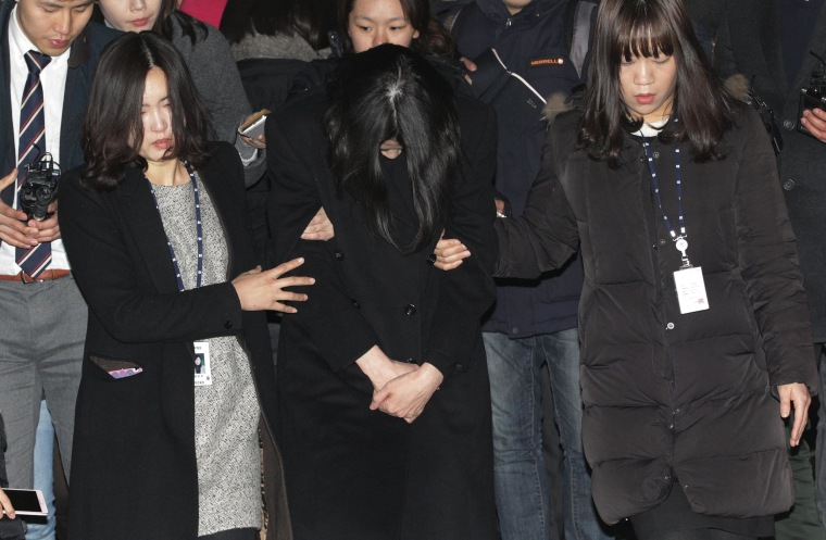 South Korean prosecutors are seeking a 3-year prison term for the former Korean Air executive infamous for an inflight outburst over how she was served macadamia nuts.