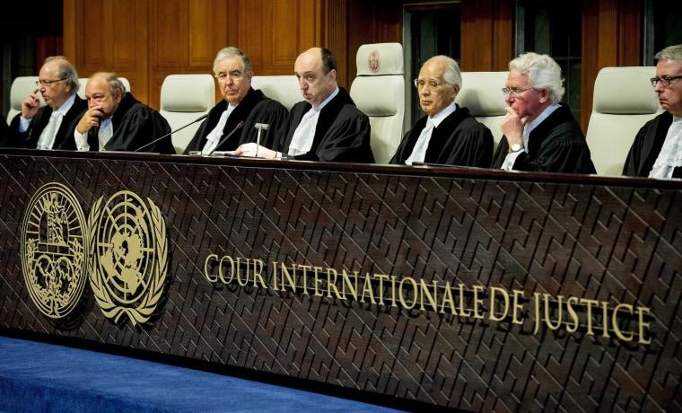Image: Judge Peter Tomka