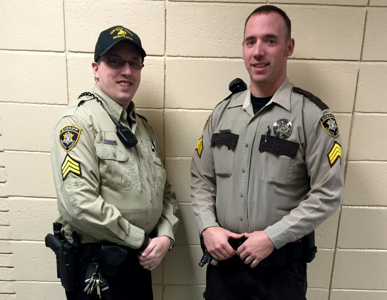 Image:new sheriff of a Wyoming county has banned his deputies from wearing cowboy hats
