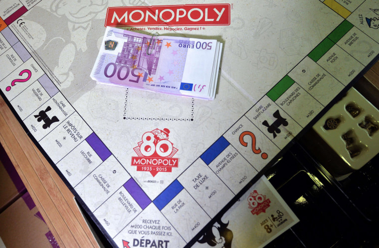 Image: FRANCE-ECONOMY-LIFESTYLE-GAME-MONOPOLY