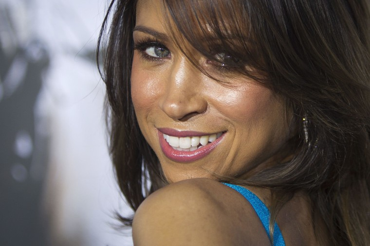 """Image: Actress Stacey Dash arrives for the premiere of the film """"American Sniper"""" in New York"""