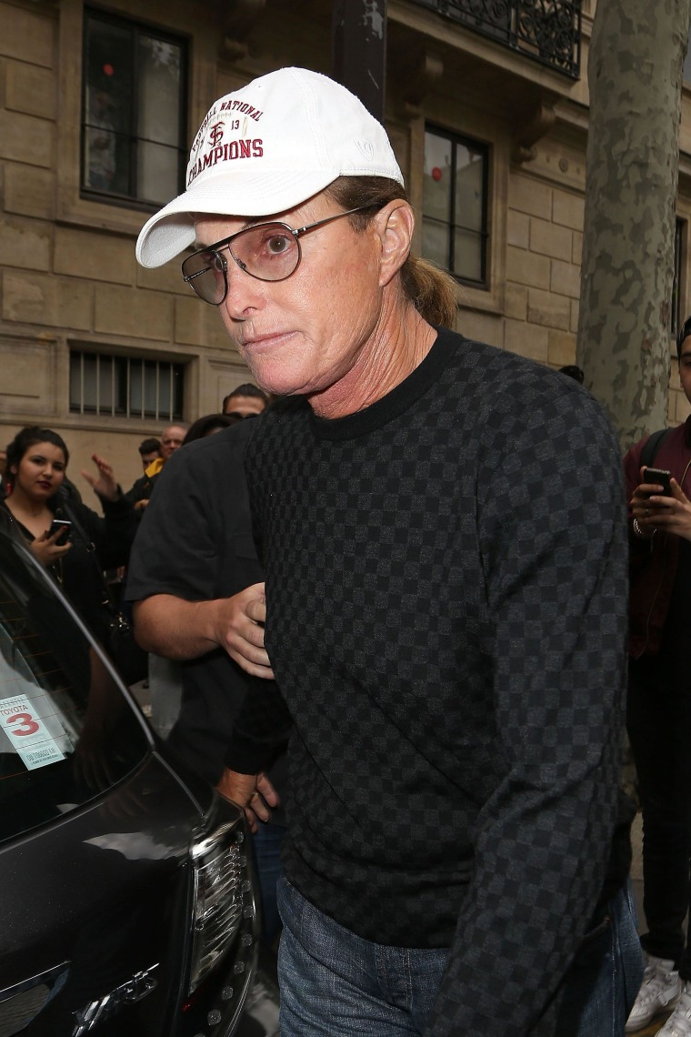 Image: FILE - Bruce Jenner Reportedly Involved In Malibu Car Crash That Has left One Person Dead