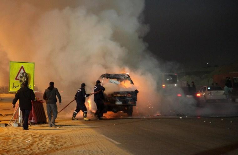 Image: EGYPT-FBL-POLITICS-UNREST