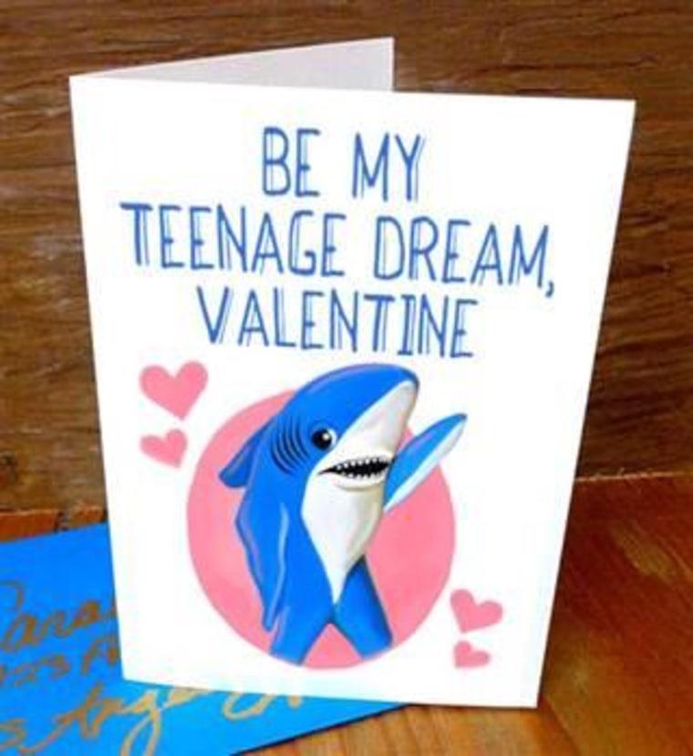 Left Shark Valentine's Day card