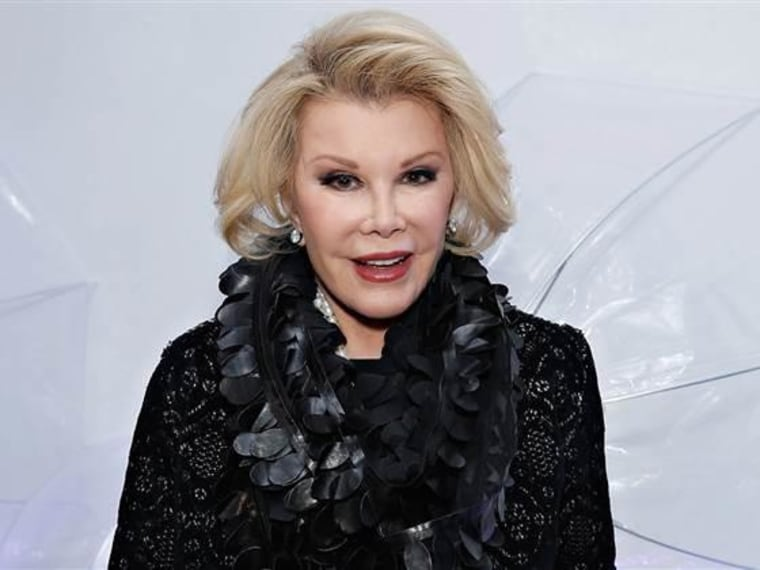 """Joan Rivers won a Grammy for Best Spoken Word Album for """"Diary of a Mad Diva."""""""