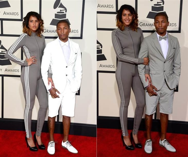 Pharrell Williams and his wife Helen Lasichanh