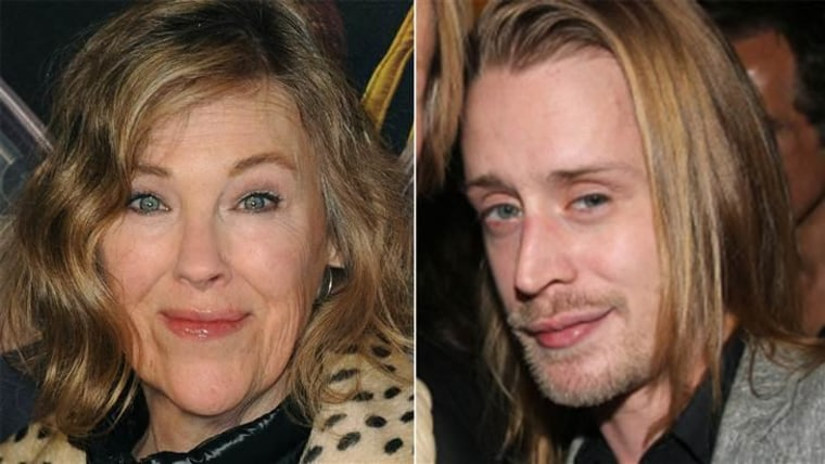"""It's been 25 years since Catherine O'Hara (left) and Macaulay Culkin (right) played mother and son in """"Home Alone."""""""