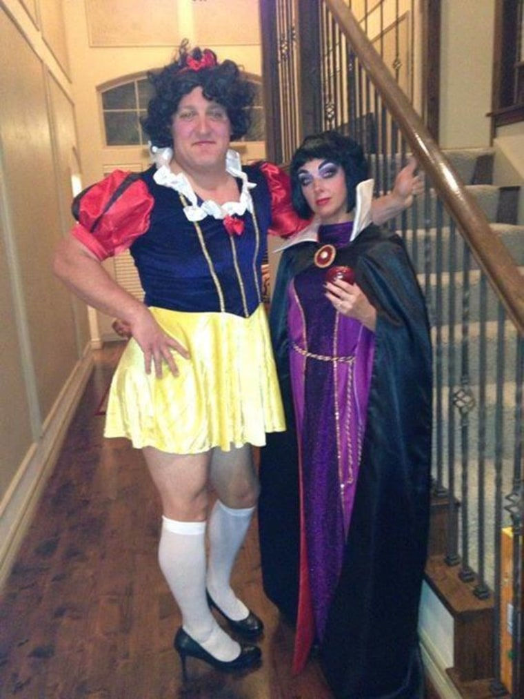 snow white and the evil queen halloween costume