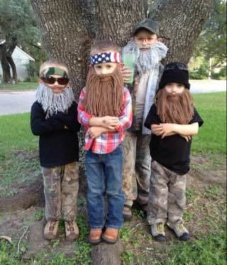 Duck Dynasty Halloween Costume  sc 1 st  Today Show & 61 awesome last-minute Halloween costume ideas