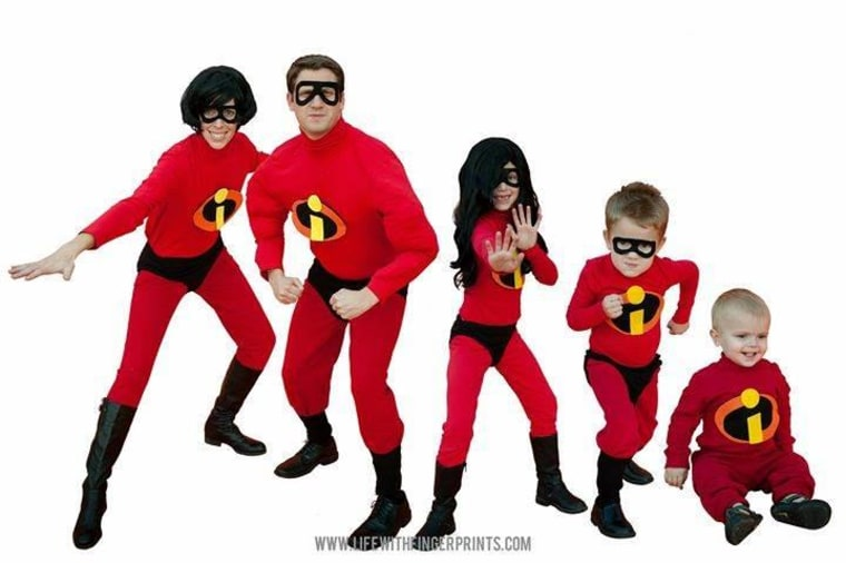 the incredibles halloween costume