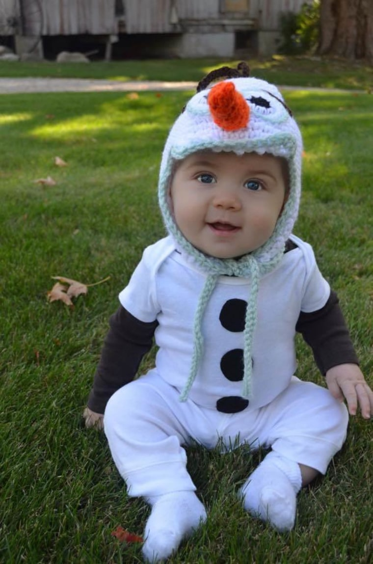 Olaf baby Halloween Costume  sc 1 st  Today Show & 61 awesome last-minute Halloween costume ideas