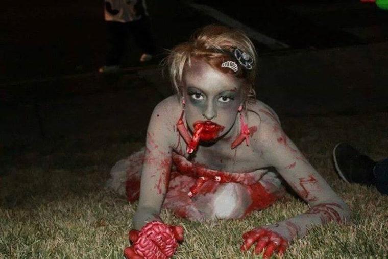 Zombia Halloween Costume