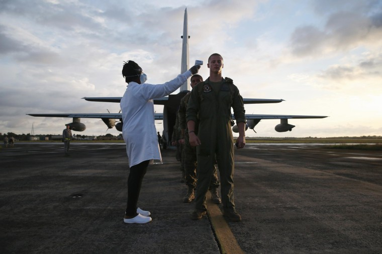 Image: U.S. Marines tested in Liberia