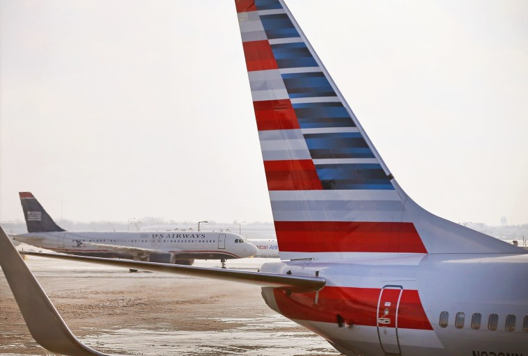 Image: American Airlines plane