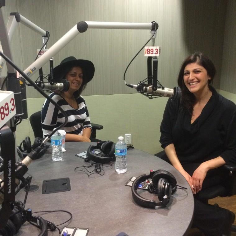 "Tanzila ""Taz"" Ahmed and Zahra Noorbakhsh discussing their new #GoodMuslimBadMuslim podcast at PRI"