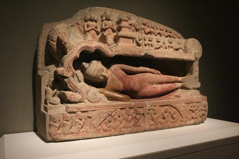 Parinibbana - Kubyauknge Temple, Myinkaba Village Pagan Period, ca 1198