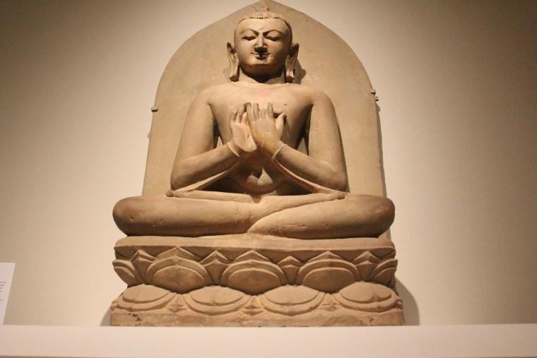 Buddha seated in dharmacakra mudra - Pagan period, 11th century