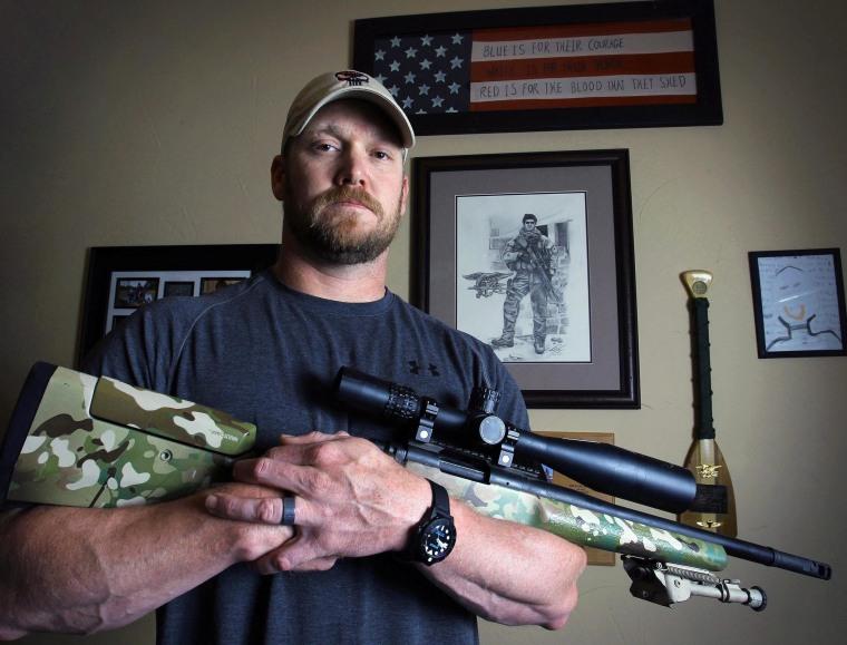 IMAGE: 'American Sniper' Chris Kyle