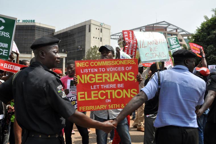 NIGERIA-VOTE-DEMO